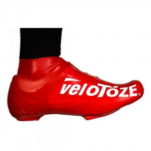 VELOTOZE SHOE COVER SHORT RED (S-RED-002-L/XL L/XL)