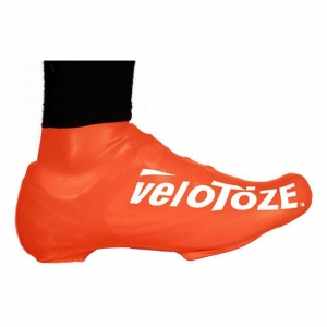 VELOTOZE SHOE COVER SHORT ORANGE (S-VIZORG-007-S/M S/M)