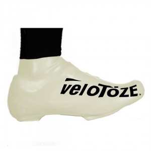 VELOTOZE SHOE COVER SHORT WHITE (S-WHT-003-L/XL L/XL)