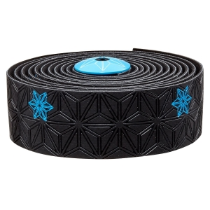SUPACAZ BAR TAPE SSK NEON BLUE GALAXY - Click for more info