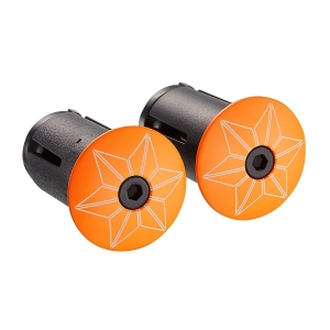 SUPACAZ BAR PLUGS STARPLUGZ NEON ORANGE - Click for more info