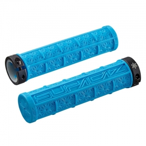 SUPACAZ BAR GRIPS GRIZIP NEON BLUE - Click for more info