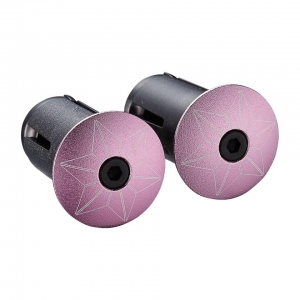 SUPACAZ BAR PLUGS STARPLUGZ GIRO PINK - Click for more info