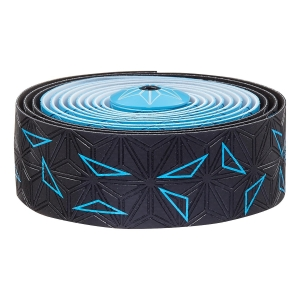 SUPACAZ BAR TAPE SSK NEON BLUE STAR FADE - Click for more info