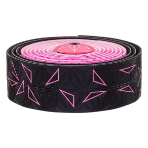 SUPACAZ BAR TAPE SSK NEON PINK STAR FADE - Click for more info