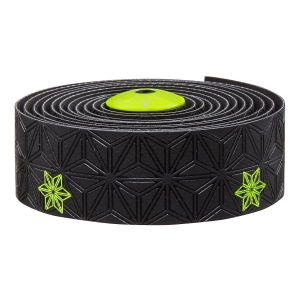 SUPACAZ BAR TAPE SSK NEON YELLOW GALAXY - Click for more info