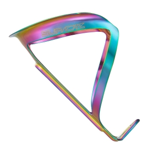 SUPACAZ BOTTLE CAGE FLY ANO ALLOY OILSLICK - Click for more info