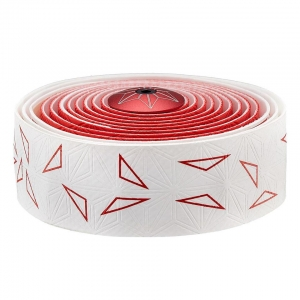 SUPACAZ BAR TAPE SSK WHITE / RED STAR FADE - Click for more info