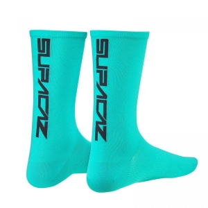 SUPACAZ SOCKS CELESTE / BLACK - Click for more info