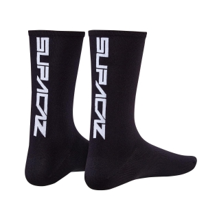 SUPACAZ SOCKS BLACK / WHITE - Click for more info
