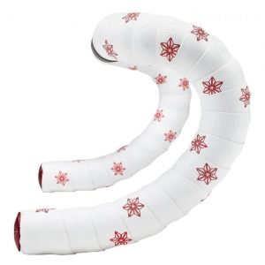 SUPACAZ BAR TAPE SSK WHITE / RED GALAXY - Click for more info