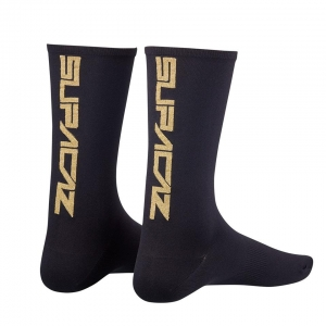 SUPACAZ SOCKS GOLD BLING - Click for more info