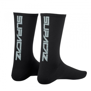 SUPACAZ SOCKS SILVER BLING - Click for more info