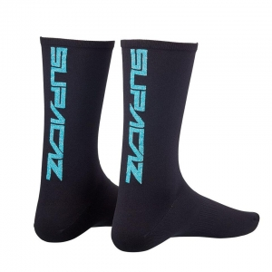 SUPACAZ SOCKS BLUE BLING - Click for more info