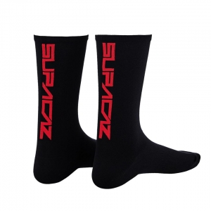 SUPACAZ SOCKS BLACK / RED - Click for more info