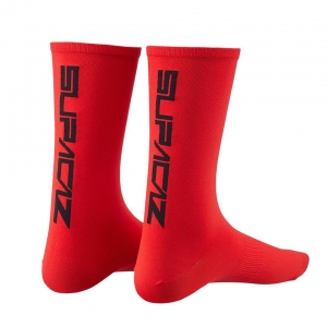 SUPACAZ SOCK RED / BLACK - Click for more info