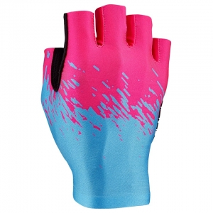 SUPACAZ GLOVE HF SUPAG NEON BLUE / PINK - Click for more info