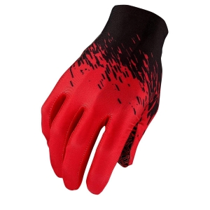 Supacaz Glove Galactic Red/Blk M - Click for more info