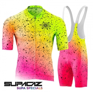 SUPACAZ KIT - SCORCH NEON YELLOW / PINK - Click for more info