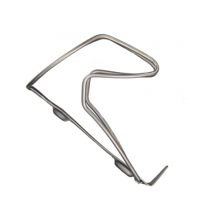 SUPACAZ BOTTLE CAGE TITANIUM RAW - Click for more info