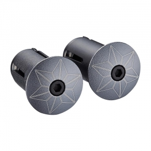 SUPACAZ BAR PLUGS STARPLUGZ GUN METAL ANO - Click for more info