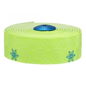 SUPACAZ BAR TAPE SSK NEON YELLOW / BLUE GALAXY - Click for more info