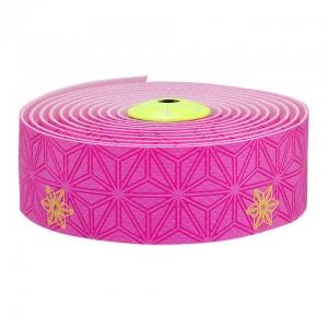 SUPACAZ BAR TAPE SSK NEON PINK / YELLOW GALAXY - Click for more info