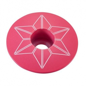 SUPACAZ STEM TOP CAPZ NEON PINK - Click for more info