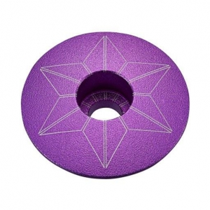 SUPACAZ STEM TOP CAPZ PURPLE ANO - Click for more info