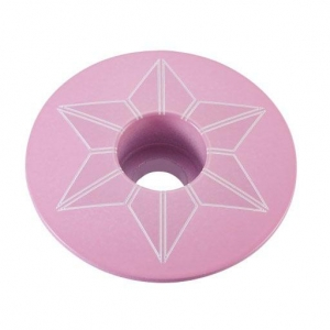 SUPACAZ STEM TOP CAPZ GIRO PINK - Click for more info