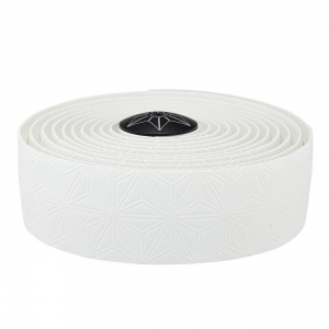 Supacaz Bar Tape Suave White/AnoPlugs - Click for more info