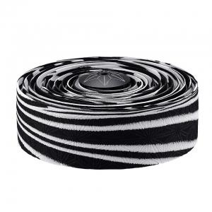 Supacaz Bar Tape Suave Zebra/Blk Plug - Click for more info