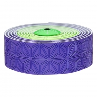 SUPACAZ BAR TAPE SSK NEON GREEN & PURPLE - Click for more info