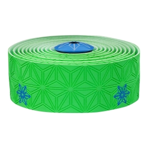 SUPACAZ BAR TAPE SSK NEON GREEN / BLUE GALAXY - Click for more info