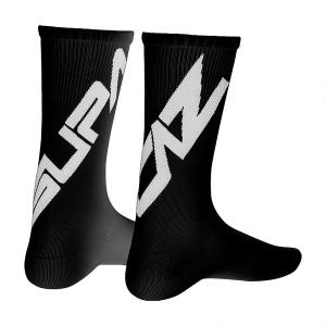 SUPACAZ TWISTED SOCKS BLACK/WHITE - Click for more info