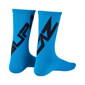 SUPACAZ TWISTED SOCKS BLUE / BLACK - Click for more info