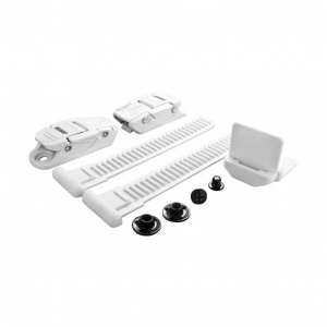 BONT SLIMLINE BUCKLE KIT WHITE - Click for more info