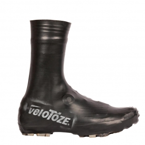 VELOTOZE SHOE COVER TALL MTB BLACK - Click for more info