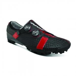 BONT VAYPOR G MATTE BLACK & RED WIDE FIT - Click for more info