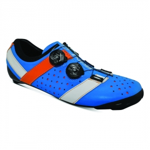 BONT VAYPOR+ LEATHER ALPHA BLUE / ORANGE - Click for more info