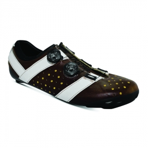 BONT VAYPOR+ LEATHER BROWN / WHITE - Click for more info