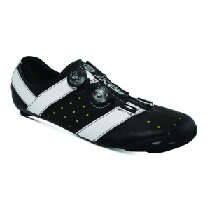 BONT VAYPOR+ LEATHER BLACK / WHITE WIDE FIT - Click for more info