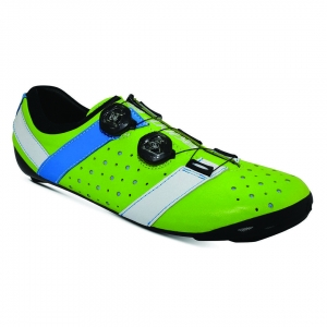 BONT VAYPOR+ LEATHER LIME GREEN / ALPHA BLUE - Click for more info