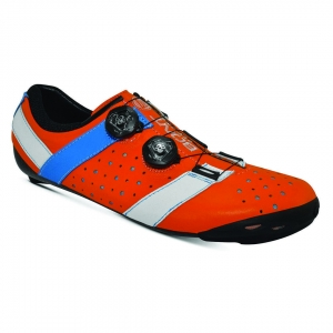 BONT VAYPOR+ LEATHER ORANGE / ALPHA BLUE - Click for more info