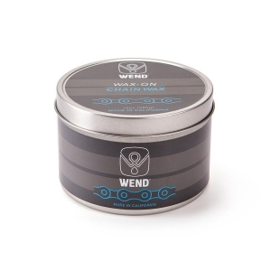WEND WAX-ON CHAIN LUBE TIN WHITE 320ML - Click for more info