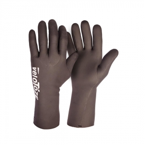 VELOTOZE WATERPROOF CYCLING GLOVES BLACK - Click for more info