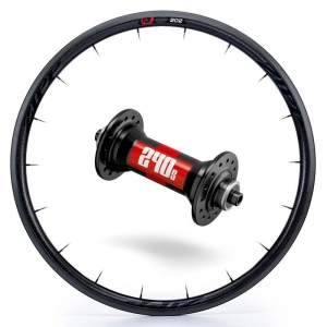 Zipp Whl Custom 202/DT240 CCL Frt Blk - Click for more info