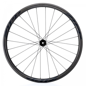 ZIPP WHEEL BESPOKE 202 / DT350 CCL DB TL FRONT BLACK - Click for more info