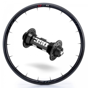 Zipp Whl Custom 202/DT350 CCL Frt Blk - Click for more info