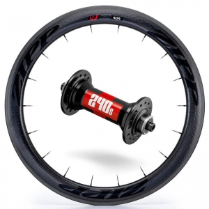 Zipp Whl Custom 404/DT240 CCL Frt Blk - Click for more info